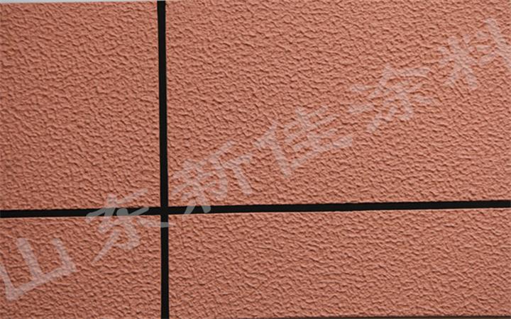 防止天然真石漆质感涂料因施工而出现发花的问题